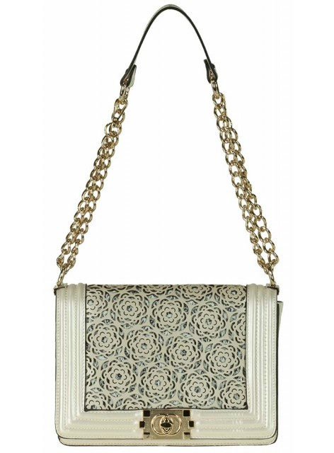 Женская маленькая сумка MATMAZEL 1413004,22 бежевая