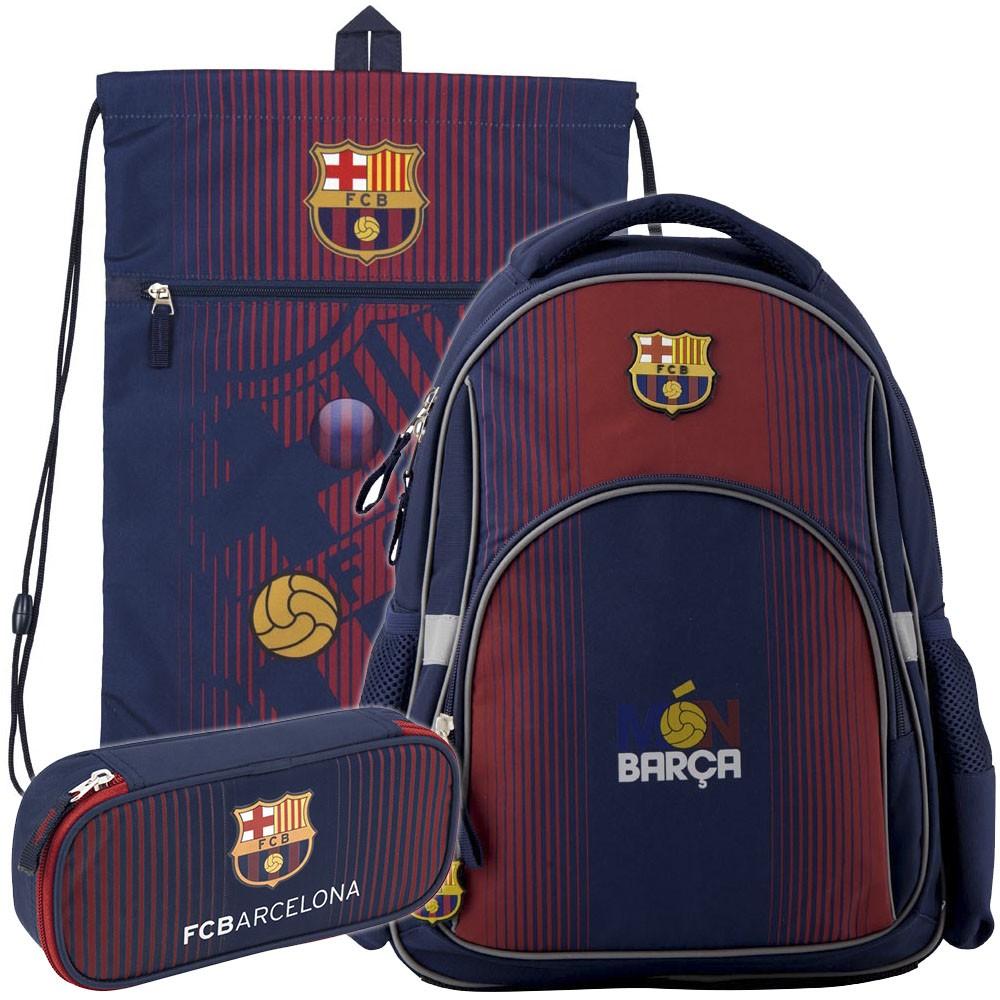 be410aea84b7 Рюкзак в комплекте 3 в 1 FC Barcelona KITE BC19-513S+601L+662 Купить ...