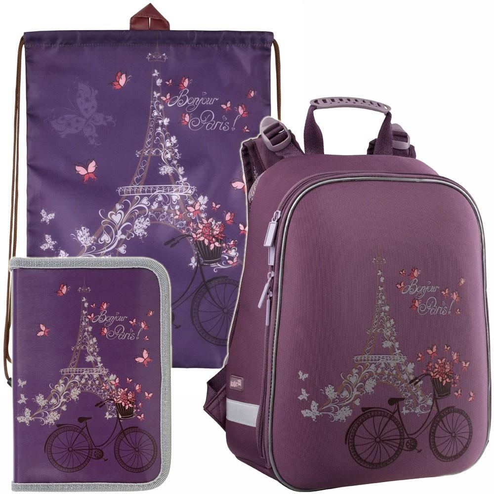 Рюкзак в комплекте 3 в 1 Kite Paris K15-531-2M+600-6+621-4 Купить ... 7f9e5e68503
