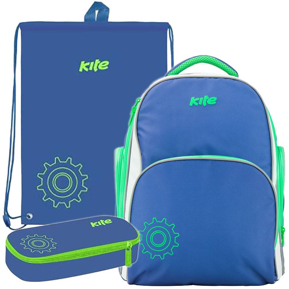 106112f08cf3 Рюкзак в комплекте 3 в 1 Smart KITE K17-705-2+600-14+662-6 Купить ...