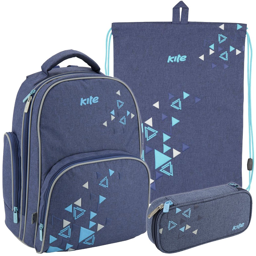 2b51d726c032 Рюкзак в комплекте 3 в 1 Be bright KITE K18-705S-2+600S-14+662-6 ...