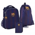 Рюкзак в комплекте 3 в 1 FC Barcelona KITE BC20-531M+600M+622