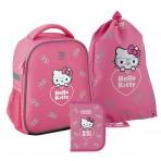 Рюкзак в комплекте 3 в 1 Hello kitty KITE HK20-555S+600M-2+622