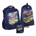 Рюкзак в комплекте 3 в 1 Hot Wheels KITE HW20-531M+600M-2+622-2