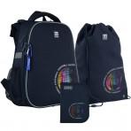 Рюкзак в комплекте 3 в 1 Football KITE K21-531M-6+600M-14+621-6