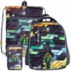 Рюкзак в комплекте 3 в 1 Motorbike KITE K21-555S-2+601M-8+623-2