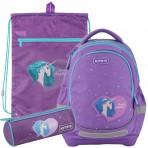 Рюкзак в комплекте 3 в 1 Lovely Sophie KITE K20-724S-1+601M-27+19-667-4
