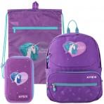Рюкзак в комплекте 3 в 1 Lovely Sophie KITE K19-739S+601M-13+623-3