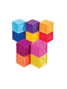 Развивающие силиконовые кубики Battat gBX1002Z