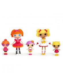 "Набор с куклами MINI Lalaloopsy серии  ""Веселая компашка"" - ПЕРВОКЛАШКИ (5 кукол)"