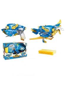 Динобот-трансформер Dinobots ПТЕРОЗАВР (30 см, бластер, мишень, 20 стрел)