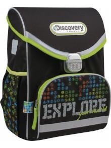 Рюкзак школьный каркасний Disсovery KITE DC15-529S