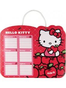 Доска с расписанием уроков + маркер Hello Kitty KITE HK14-145K