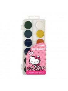 Краски акварельные, 12 цветов Hello Kitty KITE HK17-061