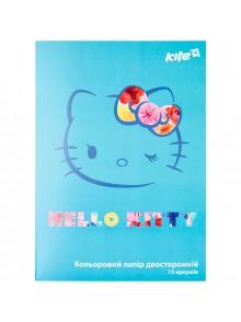 Бумага цветная двусторонняя Hello Kitty KITE HK17-250