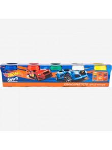 Тесто для лепки, 5 цветов Hot Wheels KITE HW17-152