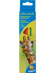 Карандаши цветные, 6 цветов KITE K15-050K