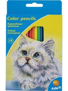 Карандаши цветные, 18 цветов KITE K15-052K