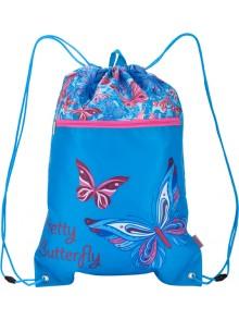 Сумка для обуви с карманом Pretty Butterfly KITE K16-601-1