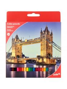 Карандаши цветные, 24 цвета KITE K17-055-2