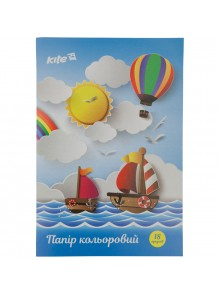Бумага цветная односторонняя KITE K17-1250-1