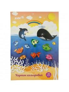 Картон цветной односторонний KITE K17-1255-1