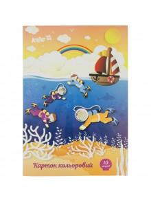 Картон цветной односторонний KITE K17-1255-2