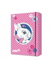 Папка для тетрадей Cute Bunny KITE K17-210-01