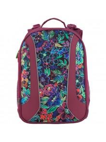 Рюкзак школьный каркасный KITE Flowery K18-703M-2
