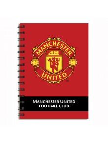 Блокнот А-6 80лист Manchester United MU14-226K
