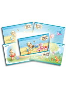 Альбом для рисования 12 листов Popcorn Bear KITE PO16-241-1