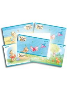 Альбом для рисования 12 листов Popcorn Bear KITE PO16-241-2