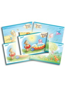 Альбом для рисования 12 листов Popcorn Bear KITE PO16-241-3