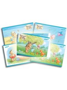 Альбом для рисования 12 листов Popcorn Bear KITE PO16-241-4