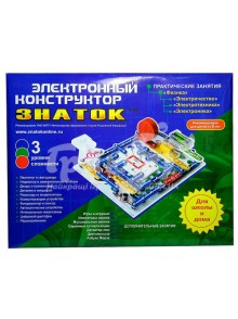 Конструктор электромеханический ЗНАТОК Школа ЗНАТОК gREW-K007