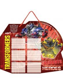 Доска с расписанием уроков + маркер Transformers KITE TF15-145K