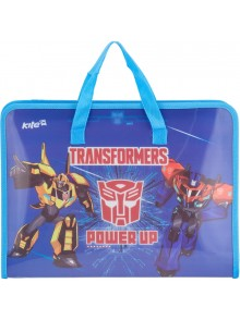 Портфель А4 на молнии Transformers KITE TF17-202