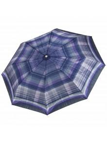 Зонт женский клетка TRI SLONA TS-113-5