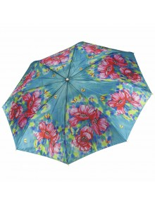 Зонт женский фотосатин TRI SLONA TS-131-1