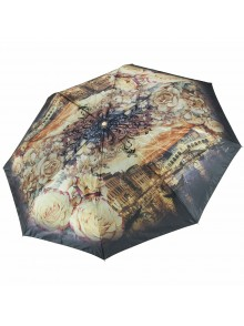 Зонт женский полупанорамный TRI SLONA TS-145H-2