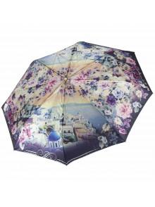 Зонт женский полупанорамный TRI SLONA TS-145H-3